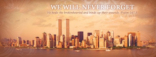never forget 911 facebook cover